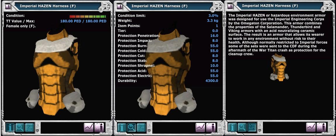 Imperial Hazen Harness (F)