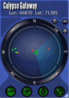Entropia Universe SatNav radar panel.png