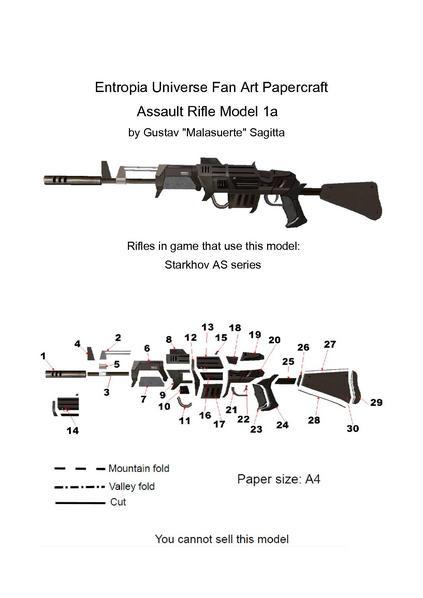 Filepapertropia papercraft assault rifle model 1a blueprintpdf filepapertropia papercraft assault rifle model 1a blueprintpdf malvernweather Choice Image