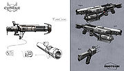 Cyrene Weapons Concept Art.jpg