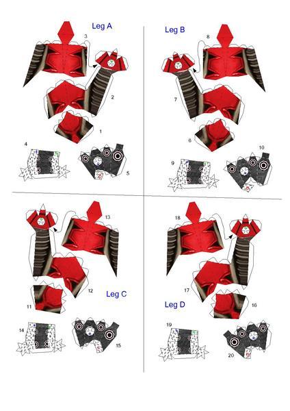 Filepapertropia papercraft spider bomber robot blueprintpdf other resolution malvernweather Choice Image